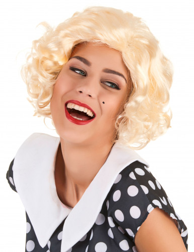 Perruque blonde Marilyn femme