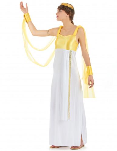 Déguisement déesse grecque avec voilage femme-1