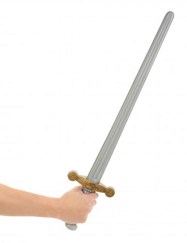 Epée chevalier médiéval en plastique-1