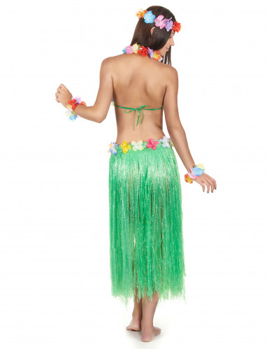 Set Hawaï vert adulte-1