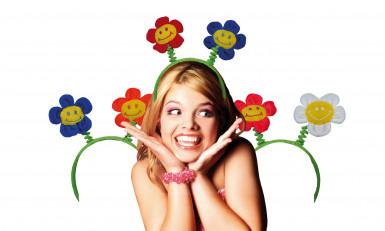 Serre-tête fleurs adulte