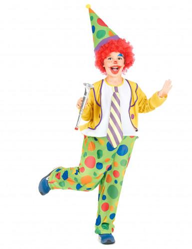 Déguisement clown joyeux garçon