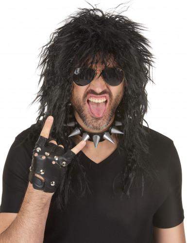 Perruque hard rocker homme