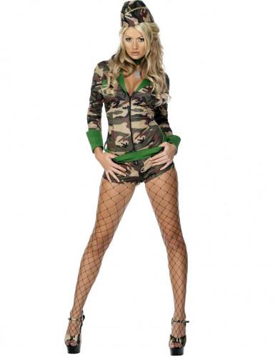 Déguisement militairesexy femme