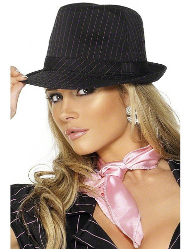 Chapeau gangster adulte