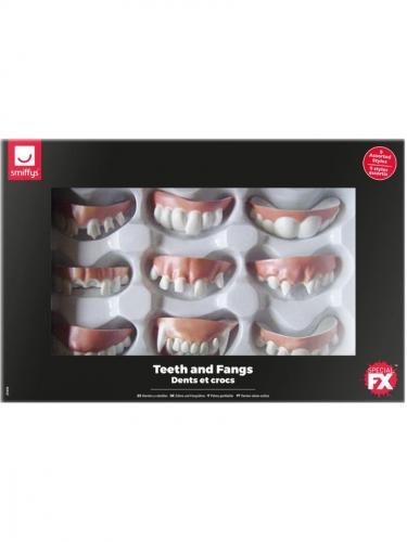 9 Dentiers effrayants Halloween