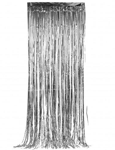 Rideau scintillant argent 91 x 244 cm