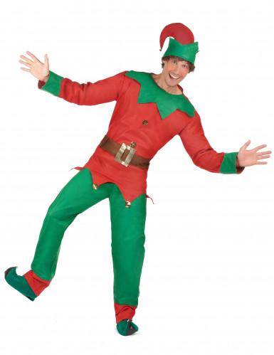 Déguisement elfe homme Noël-1