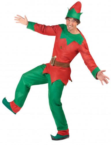 Déguisement elfe homme Noël-2