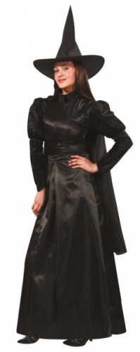 Déguisement sorcière luxe  femme Halloween