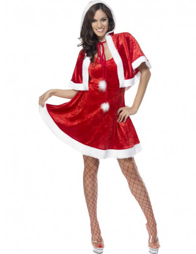 Déguisement mère Noël sexy femme