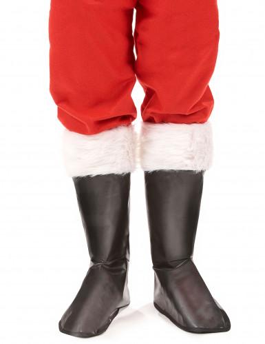 Sur-bottes Père Noël adulte-1