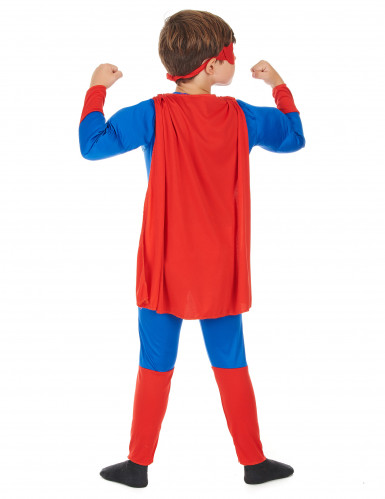 Déguisement matelassé super héros garçon-2
