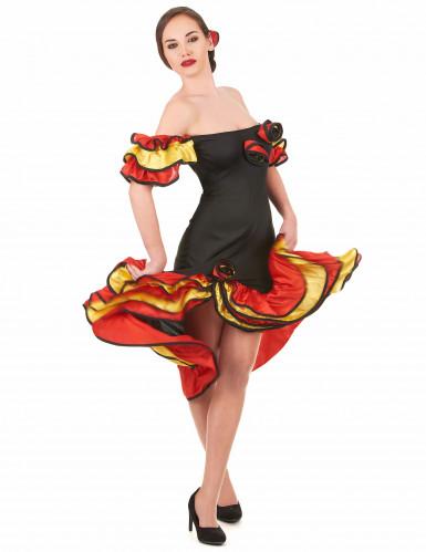 Déguisement danseuse flamenco femme
