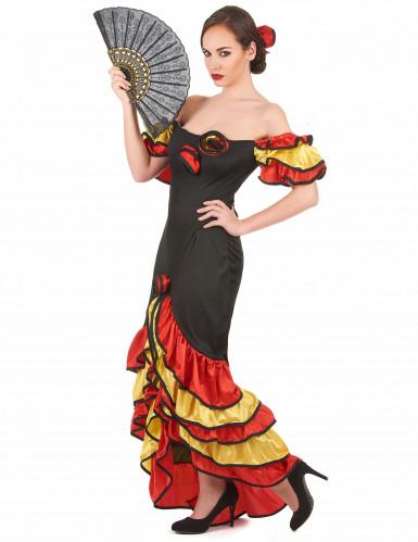 Déguisement danseuse flamenco femme-1