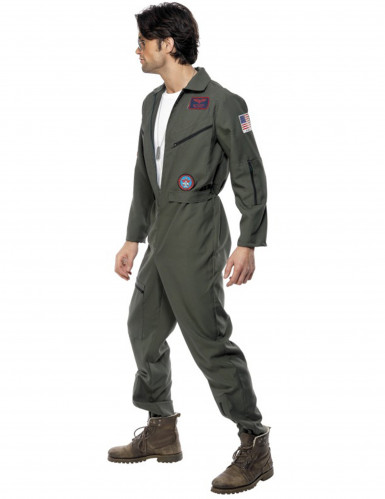 Déguisement pilote de ligne Top Gun™ homme-2