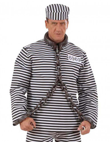 Chaîne de prisonnier pour cou et poignets-1