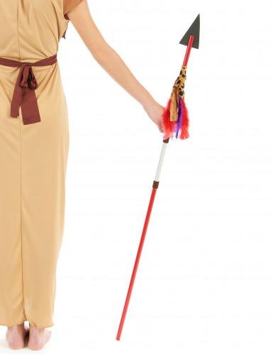 Lance indien en plastique 110 cm-1