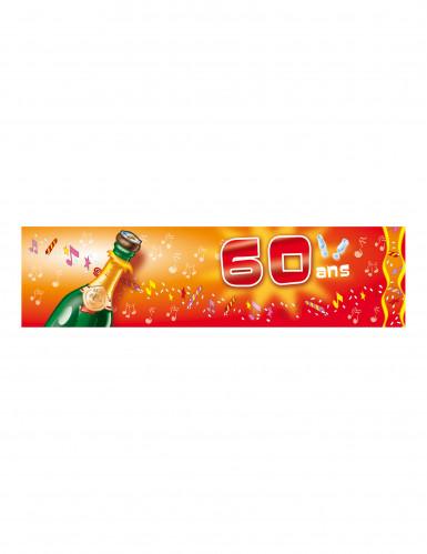 Bannière d'anniversaire 60 ans, 70 ans, 80 ans