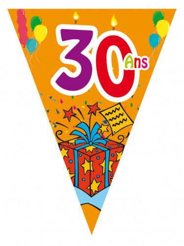 Guirlande fanions ges d coration anniversaire et f tes - Decoration table anniversaire 20 ans ...