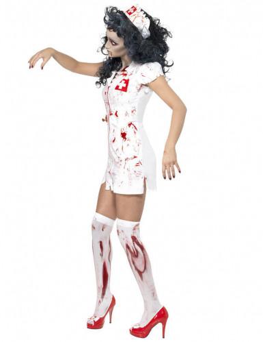 Déguisement zombie infirmière femme Halloween-1