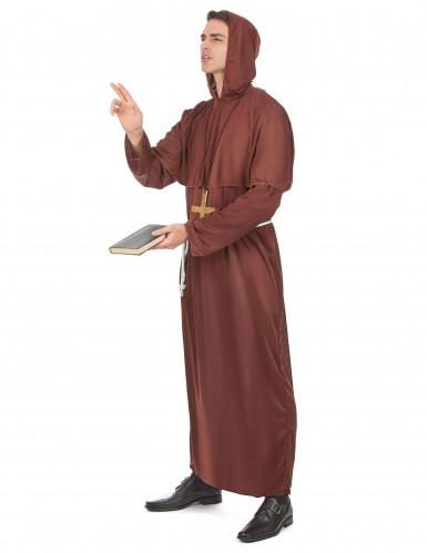 Déguisement moine tunique homme-1