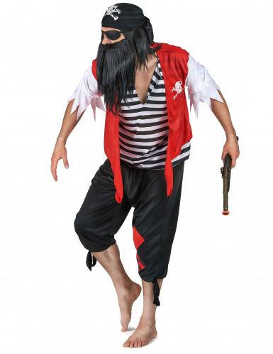 Déguisement pirate avec cache-œil homme-1
