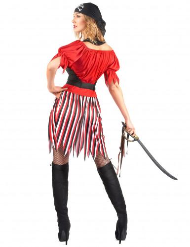Déguisement pirate tunique femme-2