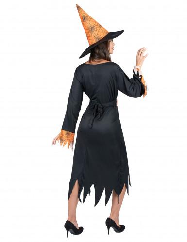 Déguisement sorcière araignée femme Halloween-2