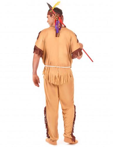 Déguisement indien bicolore homme-2