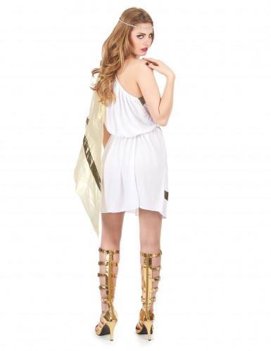 Déguisement déesse romaine avec cape femme-2