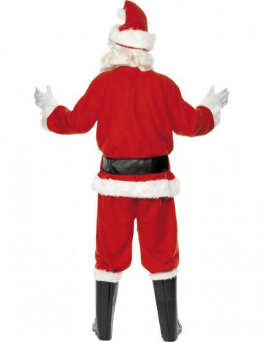 Déguisement Père Noël luxe homme-1
