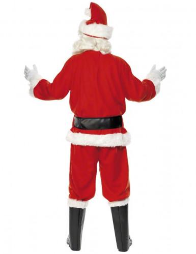 Déguisement Père Noël luxe homme-2