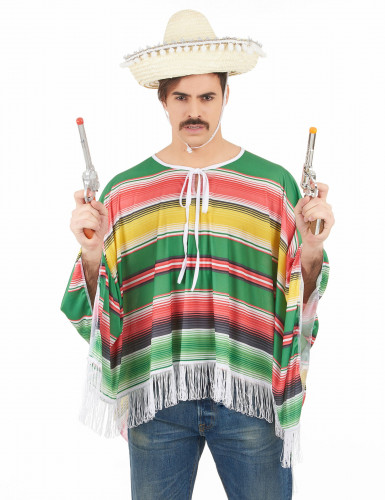 Déguisement mexicain à franges homme