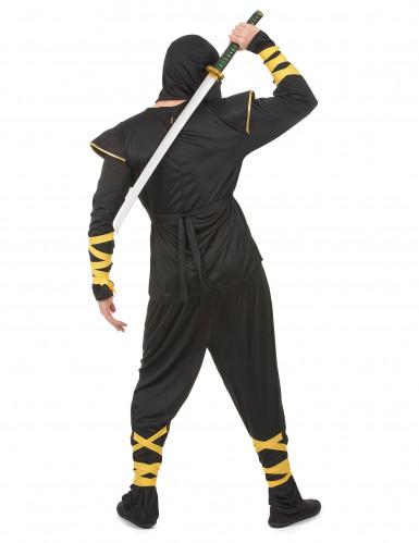 Déguisement ninja dragons dorés homme-2