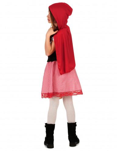Déguisement chaperon rouge basique fille-1
