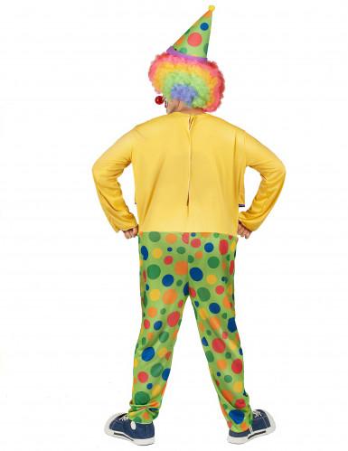 Déguisement clown festif homme-2