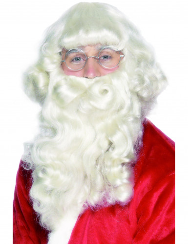Barbe et  perruque Père Noël adulte