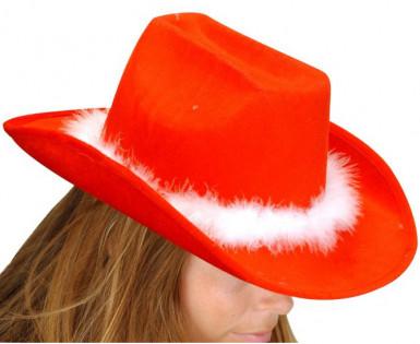 Chapeau de cowboy adulte pour Noël