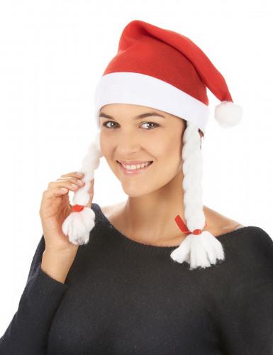 Bonnet de Mère-Noël adulte-1