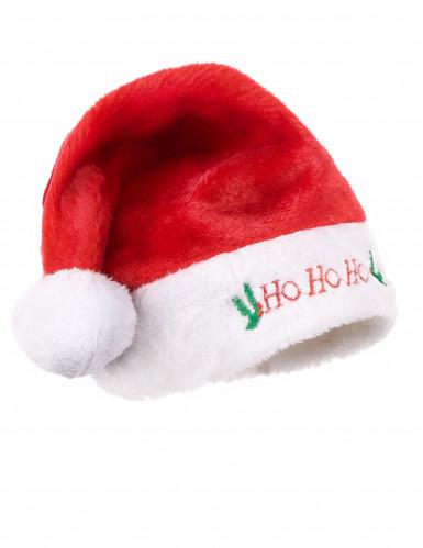 Bonnet de Noël en peluche