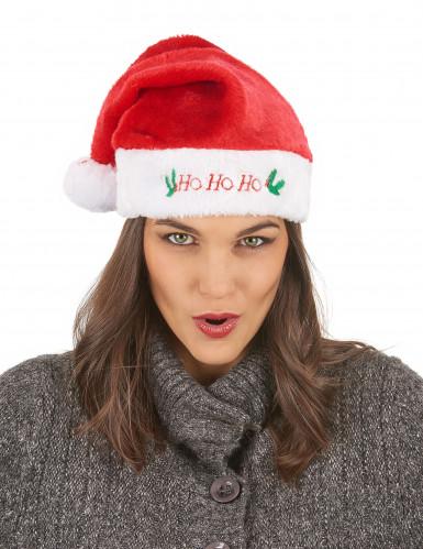 Bonnet de Noël en peluche-2