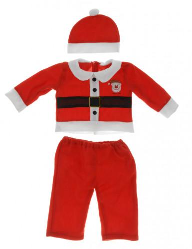Déguisement Père Noël complet bébé-1