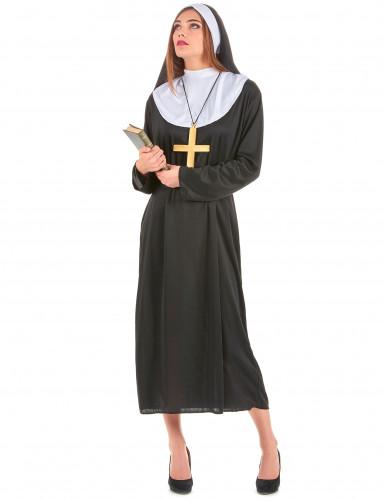 Déguisement de couple de moine et de nonne-2