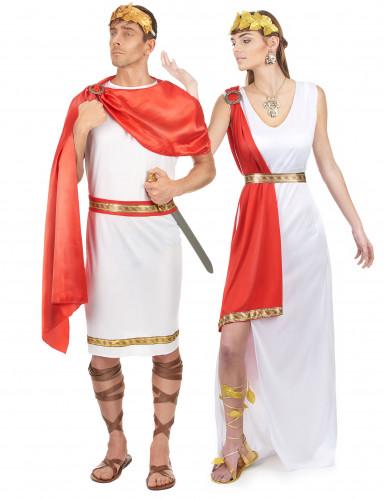 Déguisements couple de Romains