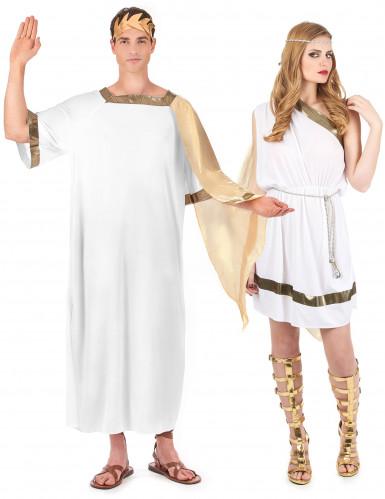 Déguisement de couple romain