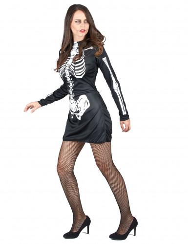 Déguisement de couple squelette Halloween-1