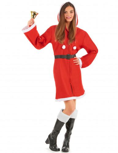 Manteau de Noël pour femme