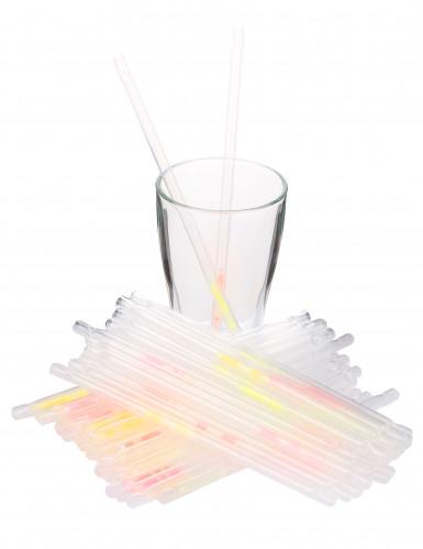 45 Pailles fluorescentes-1