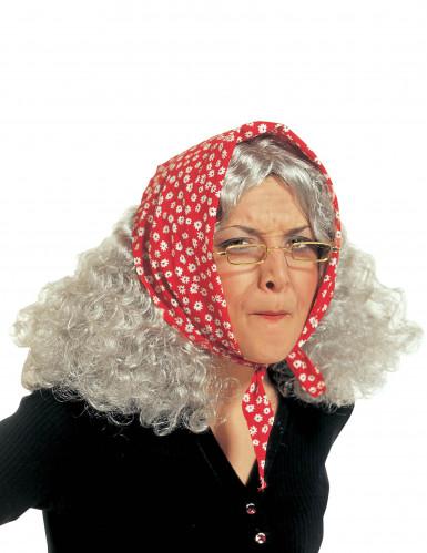 Perruque vieille femme